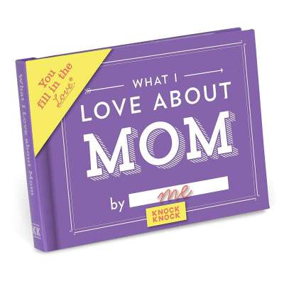 Knock Knock What I Love about Mom Fill in the Love Book Fill-in-the-Blank Gift Journal Profile Picture