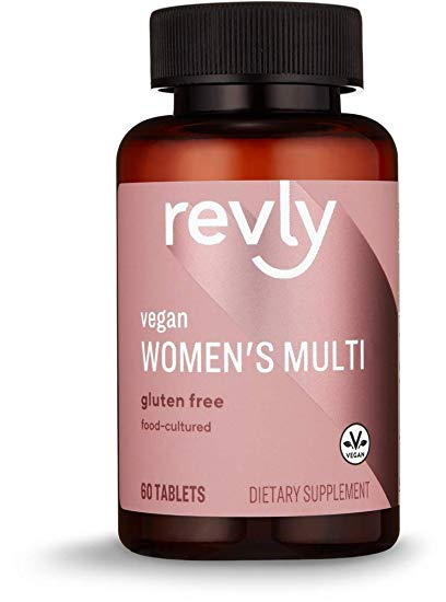 Amazon Brand - Revly Women's Multi, Vegan, 53% Food-Cultured, 60 Tablets, 2 Month Supply Profile Picture