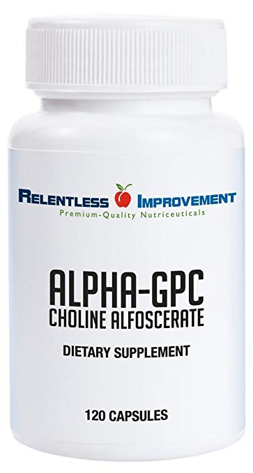 Relentless Improvement Alpha GPC 120 Capsules No Fillers No Soy Profile Picture