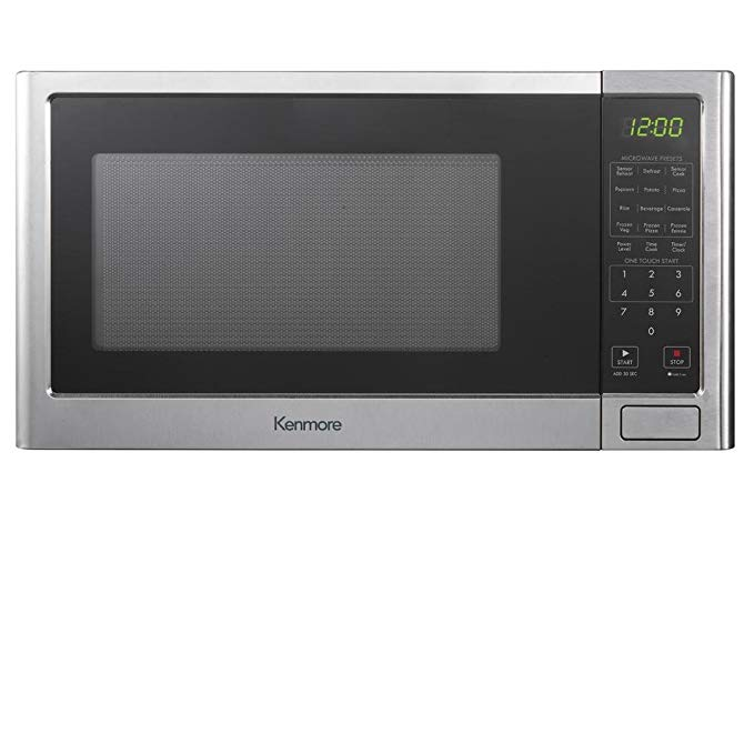 Kenmore 1.6 cu. ft. Microwave Oven - Stainless Steel 76983 Profile Picture