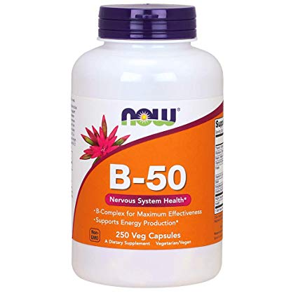 Now Supplements, Vitamin B-50 mg, 250 Veg Capsules Profile Picture
