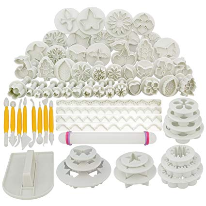 Marrywindix 68pcs 21 Sets Cake Decration Tool Set By Catalina Fondant Cake Cutter Mold Sugarcraft Icing Decorating Flower Modelling Tools Profile Picture